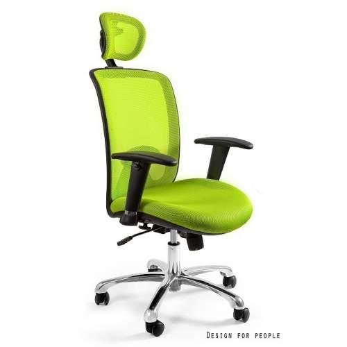 Expander fotel biurowy zielony UNIQUE