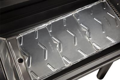 Aluminiowe wkładki do grilli na pellet